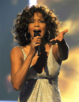 Whitney houston dating life